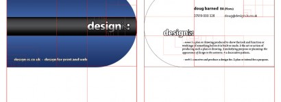 Phi Planning of Business Card