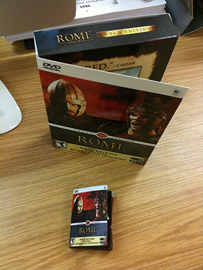 Rome Total War US Box Mockup